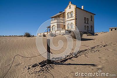 Ghost diamond mining town Kolmanskop