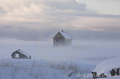 Ghost House in a Fog