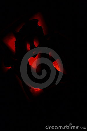 Ghost Jack-O-Lantern In The Dark