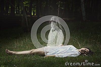 ghost fucks sleeping girl