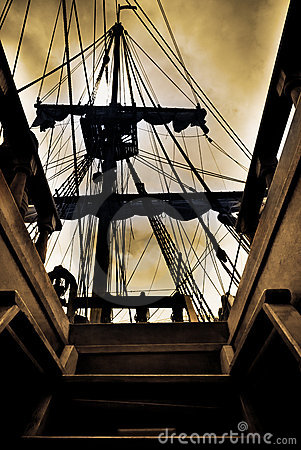 Free Ghost Ship Royalty Free Stock Photos - 18733508