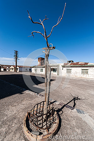 Free Ghost Town Humberstone In Atacama, Chile Royalty Free Stock Photo - 45218855