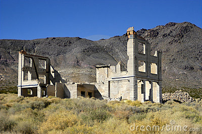 Ghost Town near Death Valley National Park