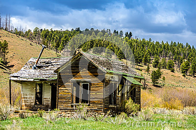 Ghost Town Stock Photo Image 42487770
