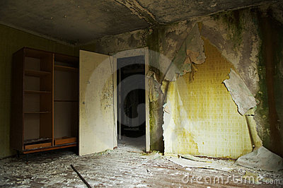 Ghost town. Pripyat Editorial Stock Image
