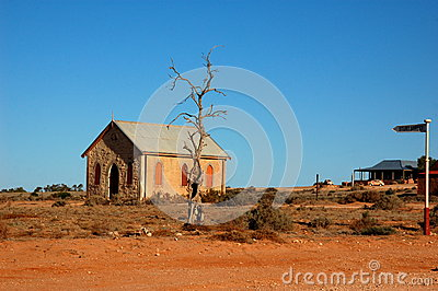 Ghost town Silverton, New South Wales, Australia