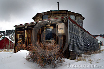 Ghost town structure