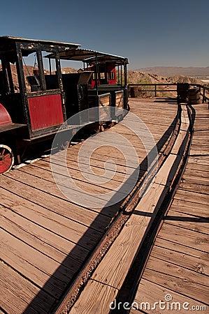 Ghost town train