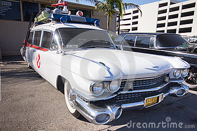 Ghostbusters Car Editorial Photography