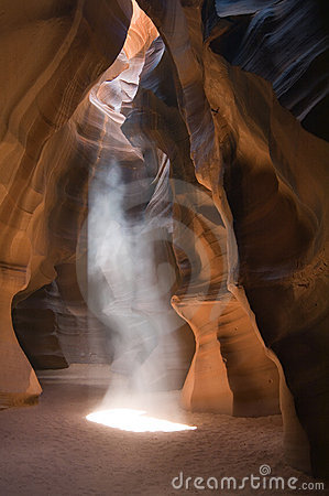 Ghostly Apparition in Antelope Canyon