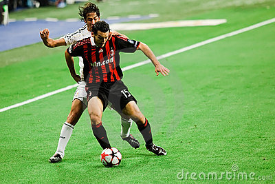 Gianluca Zambrotta vs. Raul Editorial Photography