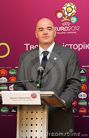 Gianni Infantino Editorial Image