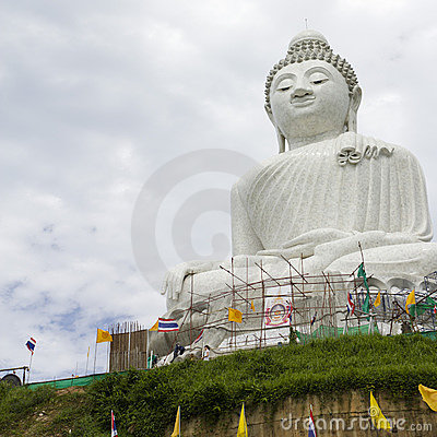 Giant Budda Statue in Phuket