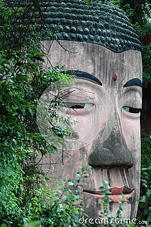 Free Giant Buddha In Leshan,china. Stock Photos - 13645143