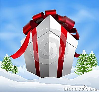 Giant Christmas Gift