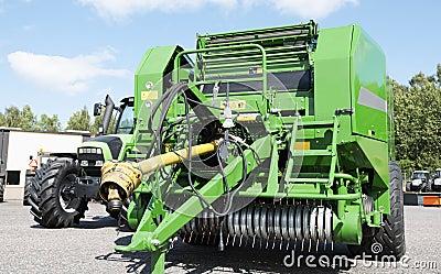 Giant combine harvester