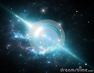 Giant cosmic bubble