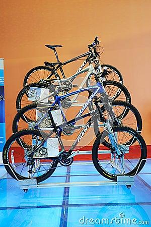 Giant  cycling mountain bike Editorial Image