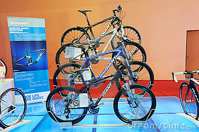 Giant cycling mountain bike Editorial Stock Photo