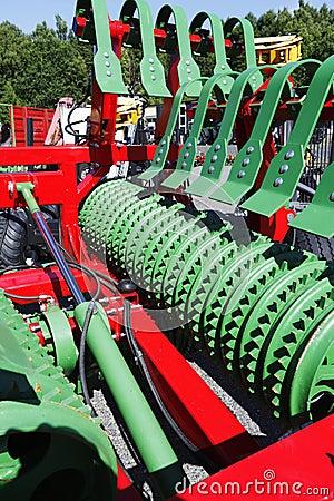 Free Giant Farming Plough Stock Photo - 32817880