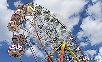 Giant Ferris Wheel in Summer