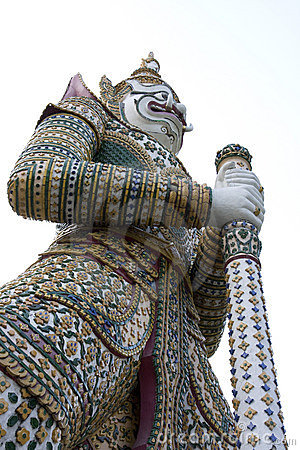 Giant Guardian_Wat Arun