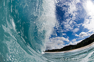 Giant hollow wave