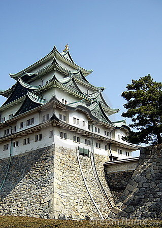 Giant Japanese ancient castle