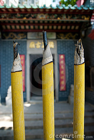 Giant joss sticks