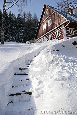 Giant mountains wintertime 2