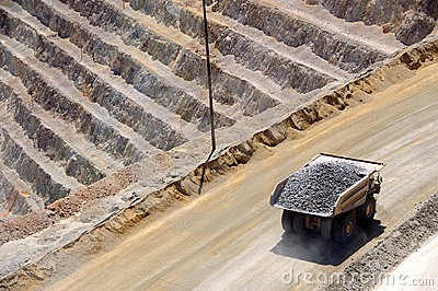 Giant Ore Truck