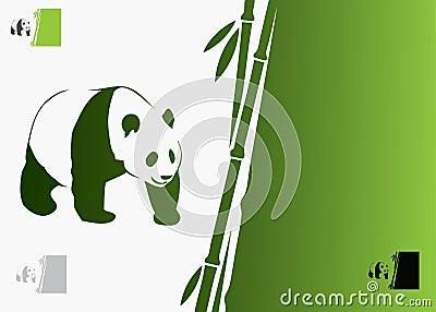 Giant panda background