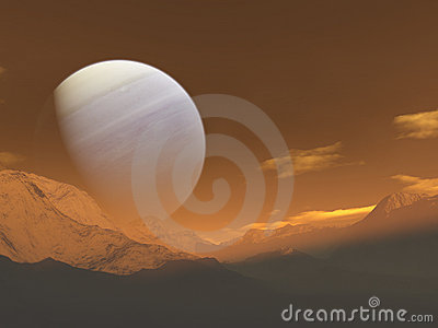 Giant planet rise