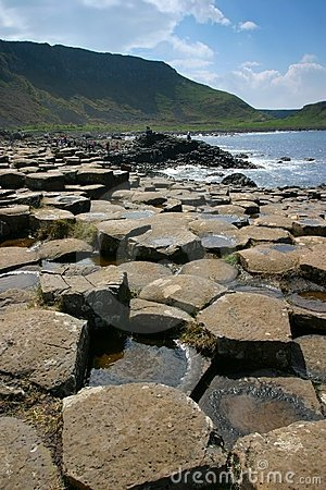 Free Giant S Causeway Royalty Free Stock Images - 310549