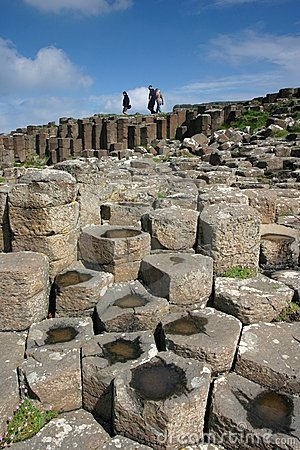 Free Giant S Causeway Royalty Free Stock Images - 317709