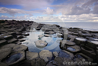 Giant s Causeway - landmark of Northern Ireland