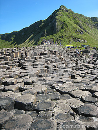 Giant  s causeway. Northern Ireland Editorial Photo