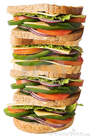 Free Giant Sandwich Royalty Free Stock Images - 11329679