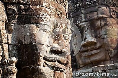 Giant smiling buddha