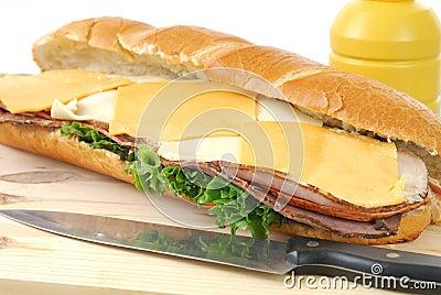 Giant sub Sandwich