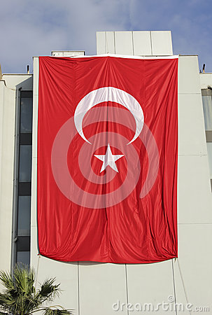 Giant  Turkey flag