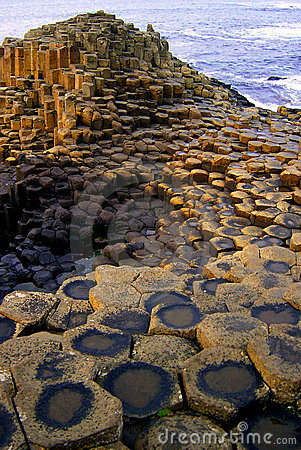 Free Giants Causeway Stock Photography - 1481482