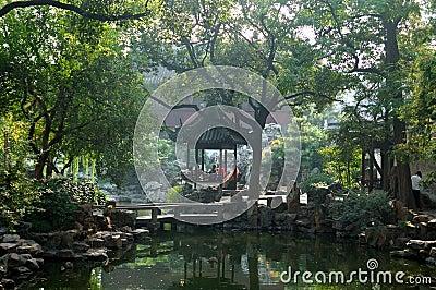 Giardino cinese immagini stock libere da diritti for Giardino cinese