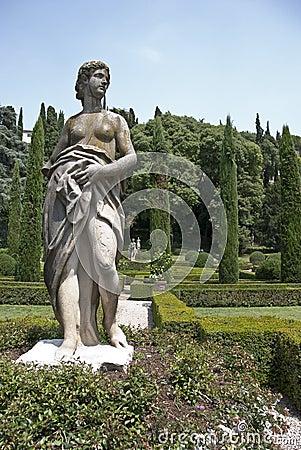 Giardino Giusti,Verona,Italy