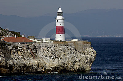 Gibraltar-Europa point Lightho