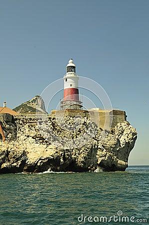 Gibraltar-Europa point Lightho