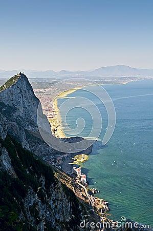 Gibraltar landscape