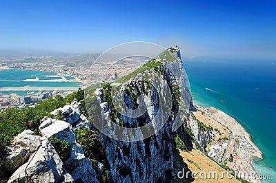 Gibraltar skała