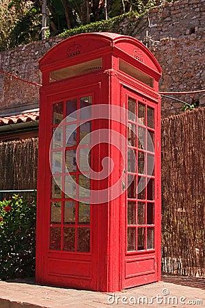 Gibraltar Telephone Box