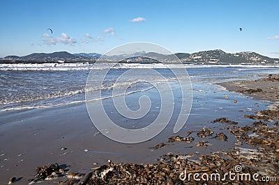 Gien半岛在法国海滨,法国